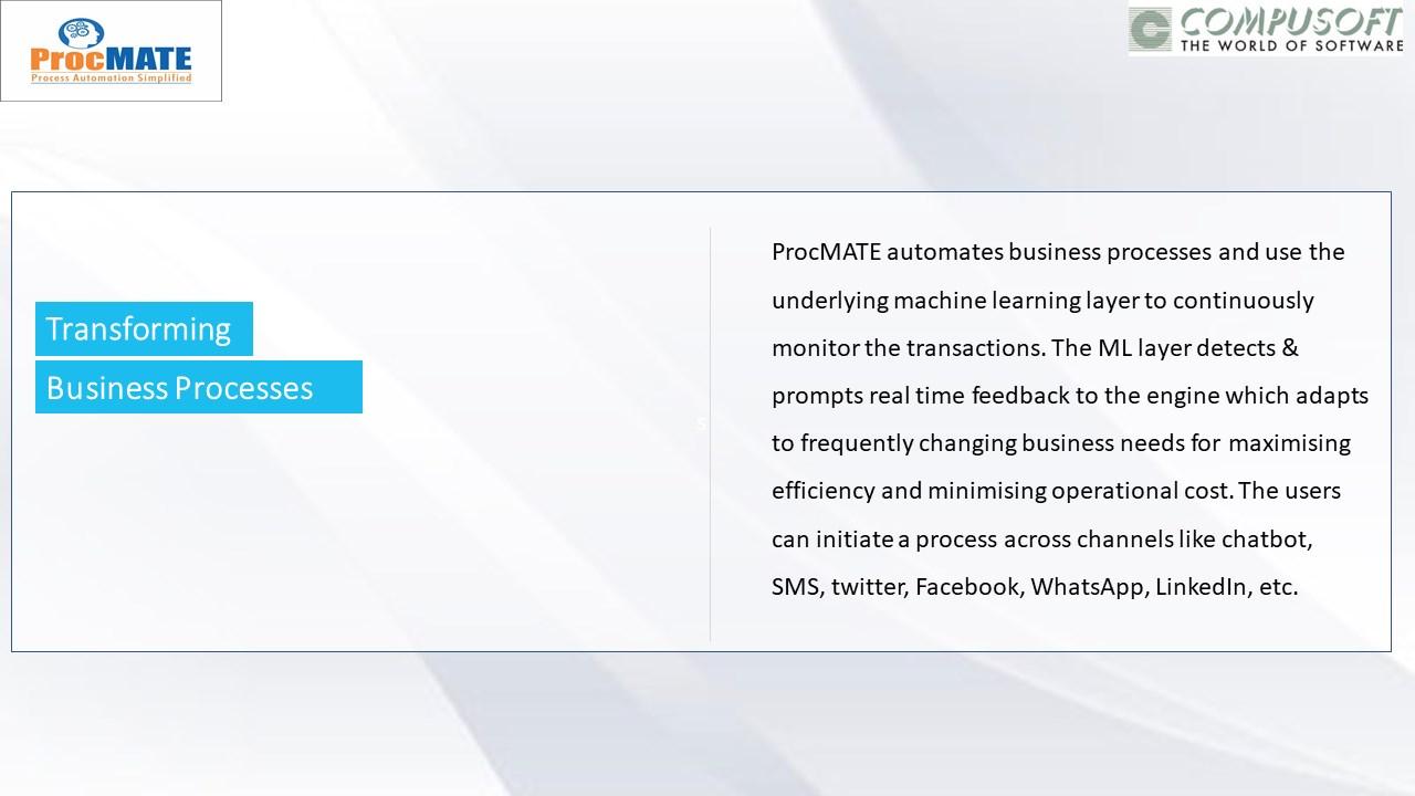 ProcMATE-Process Automation Simplified
