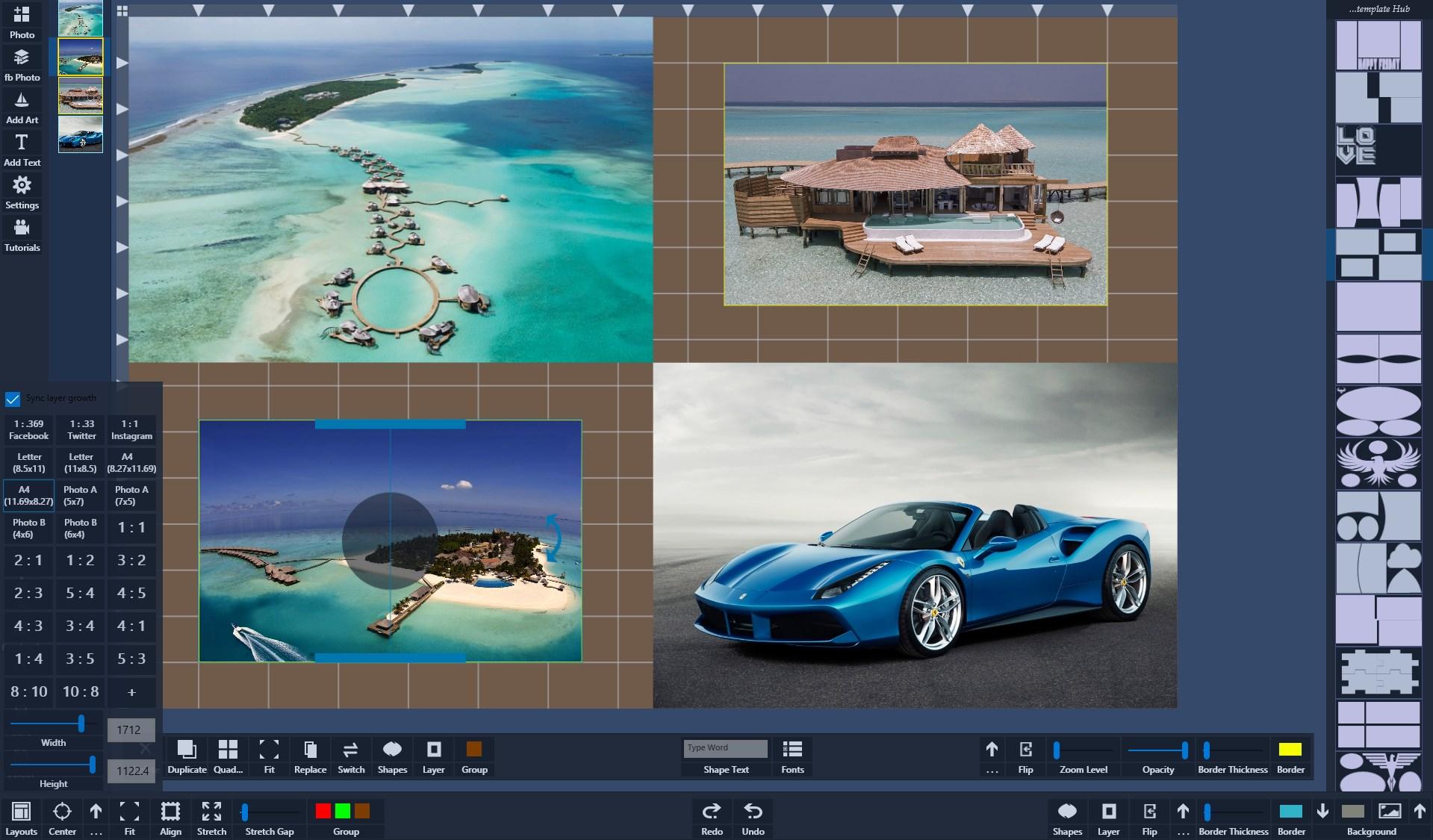 Atlantas Photo Collage Studio