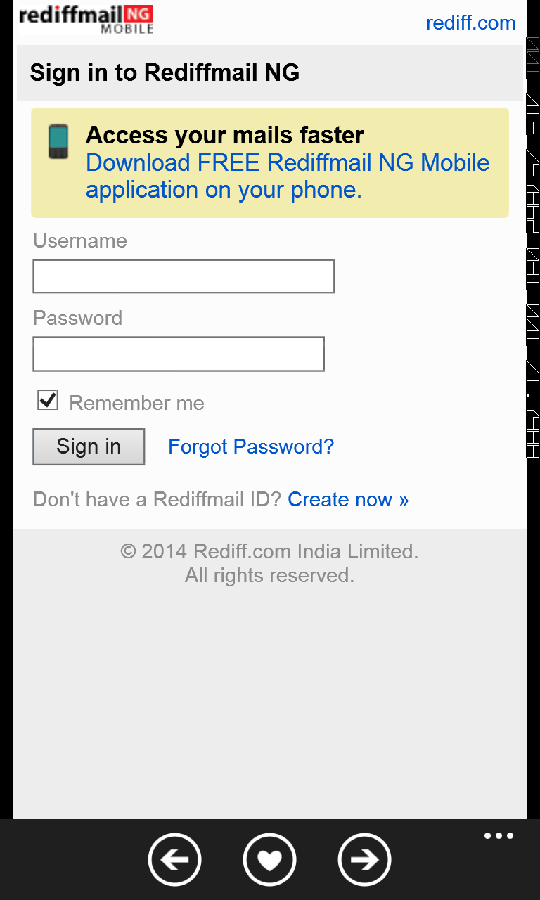 Inmave — download rediffmail app for nokia.