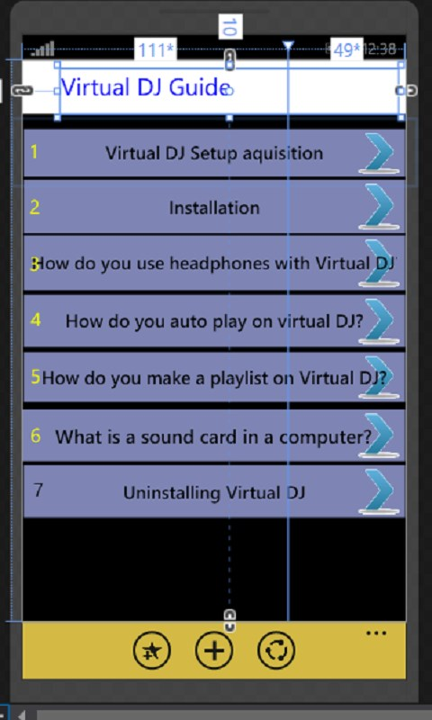 Virtual DJ Guide | FREE Windows Phone app market