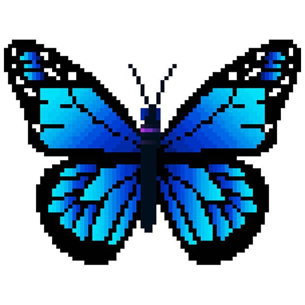 apps.29453.14633135502482715.85a64c5a 8d1a 4b87 9cf9 3361a5a4b5f1 - Butterfly Color by Number: Pixel Art Sandbox Draw