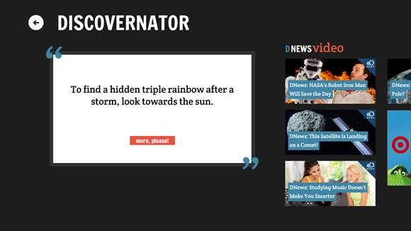 Discovery News screenshot 2