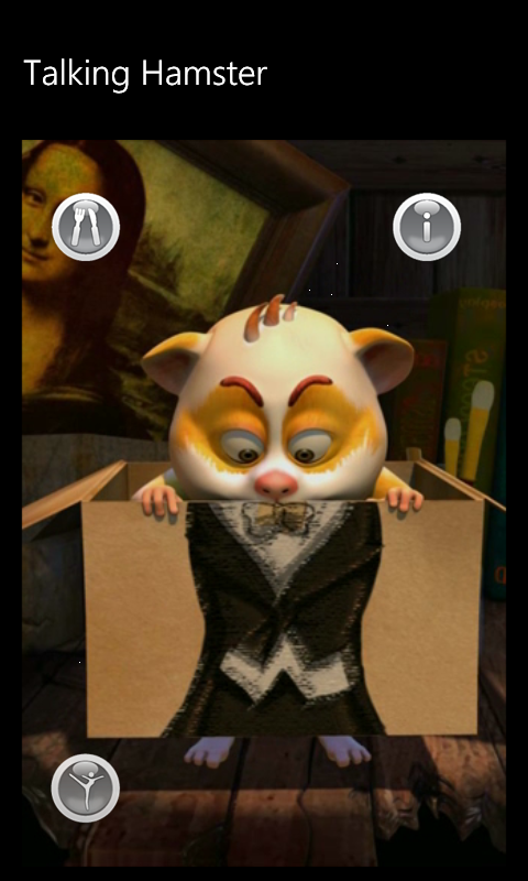Скриншоты hamster trolls - talking hamster