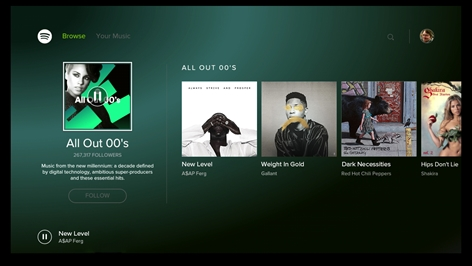 Spotify Music - for Xbox One Screenshot