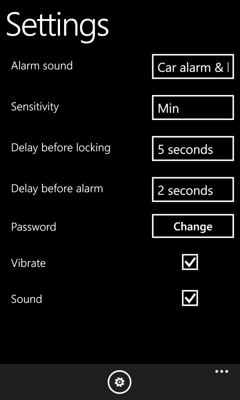 Anti Theft Alarm 2.0