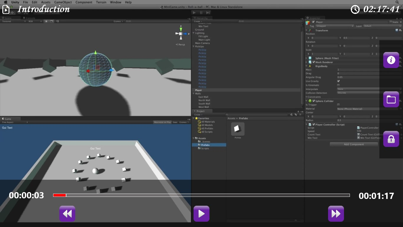 How to use the New Unity Input System - e