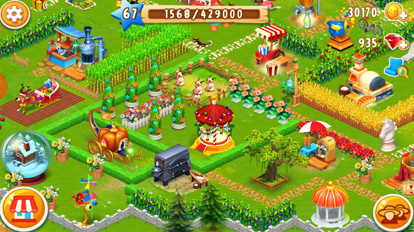 peaceful farm life in the story of cottoncandy For many farmers throughout the world in 1865, farming was about small plots of  land to grow vegetables, some cereals and having a handful of livestock.