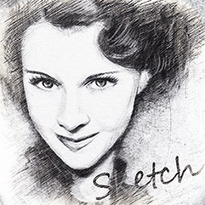 Pencil Sketch Collage - Free Photo Effect Editor