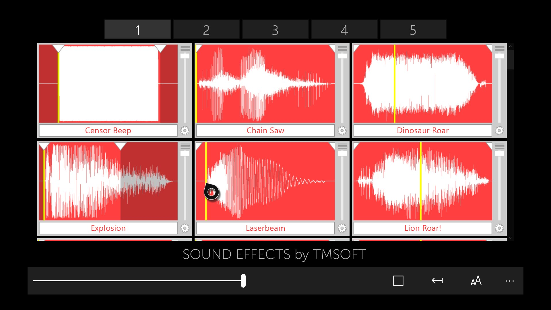Sound Effects | FREE Windows Phone app market