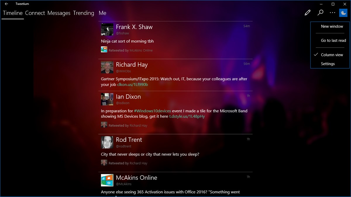 ... Windows 10 updated to fix conversation view bug introduced by Twitter