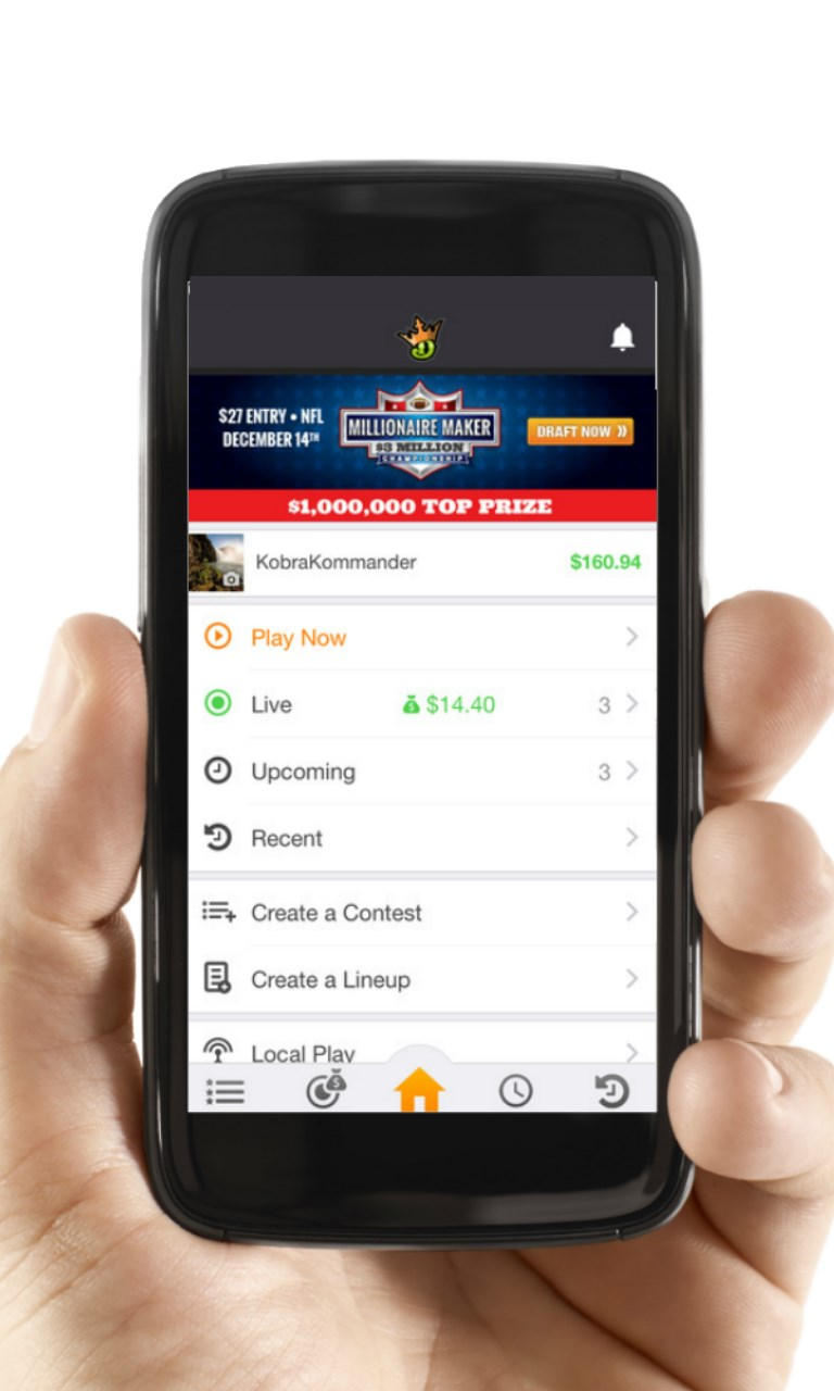 Draftkings Mobile | FREE Windows Phone app market