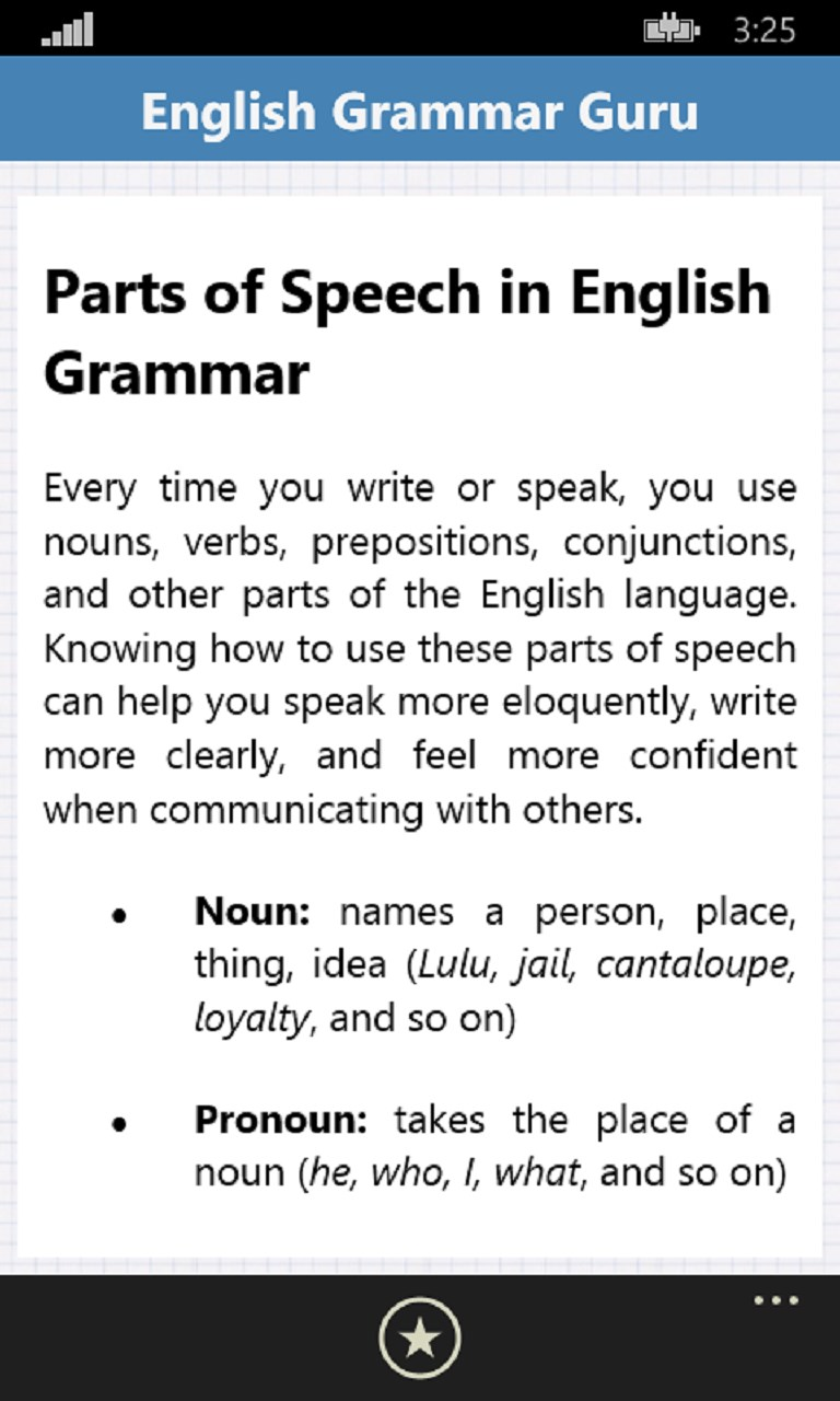English Grammar Guru