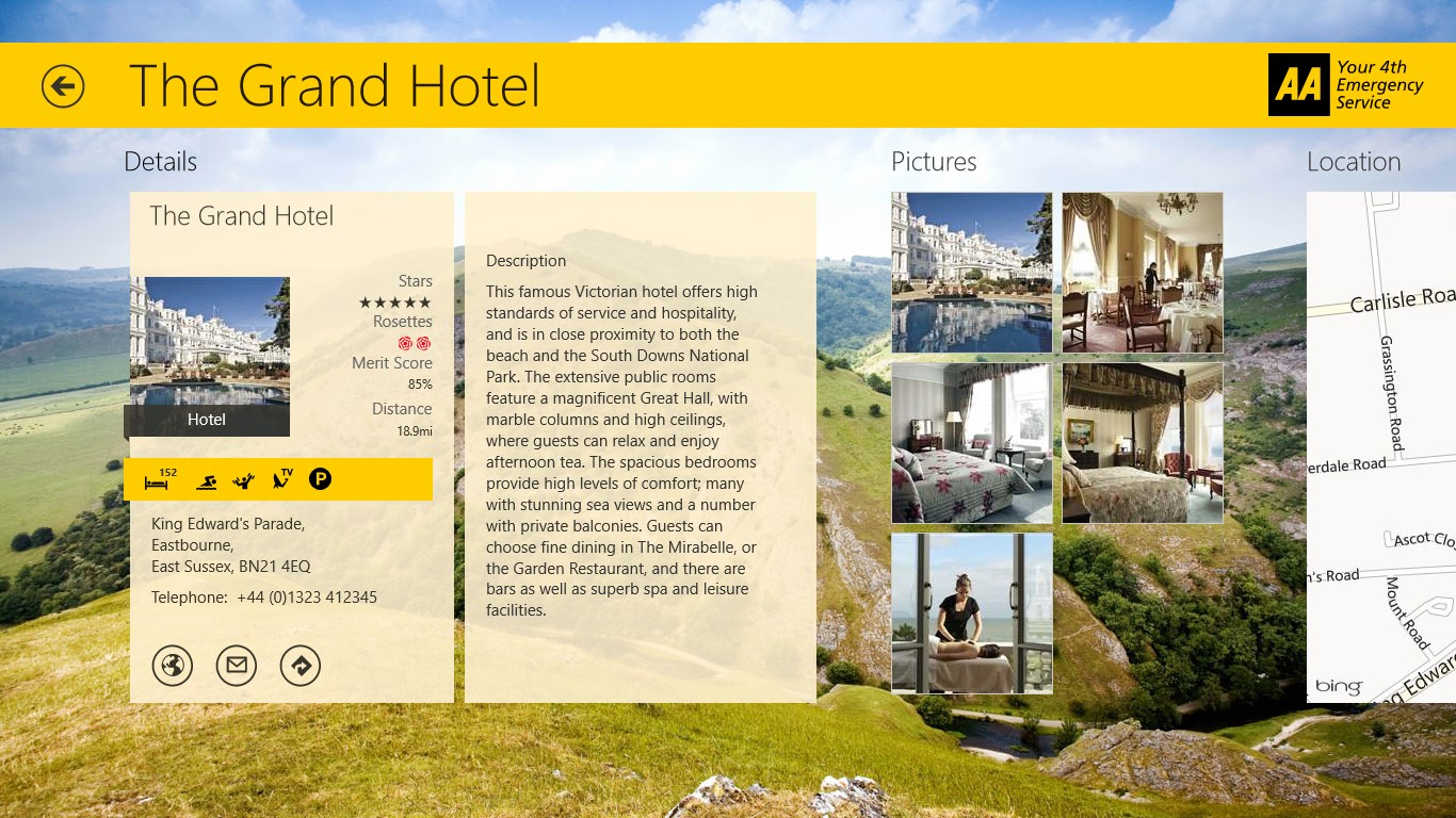 AA Hotel Guide