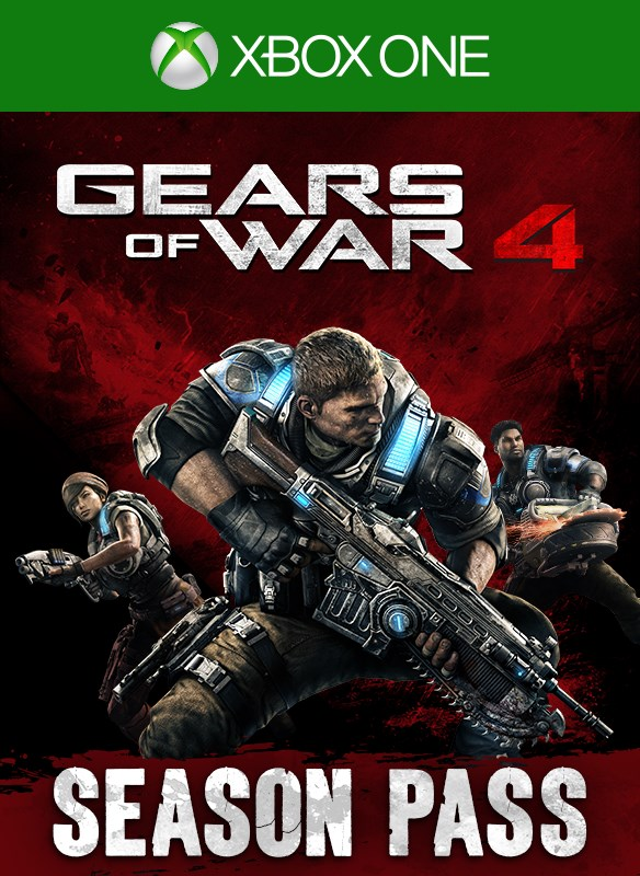 Gears of War 4 Season Pass boxshot