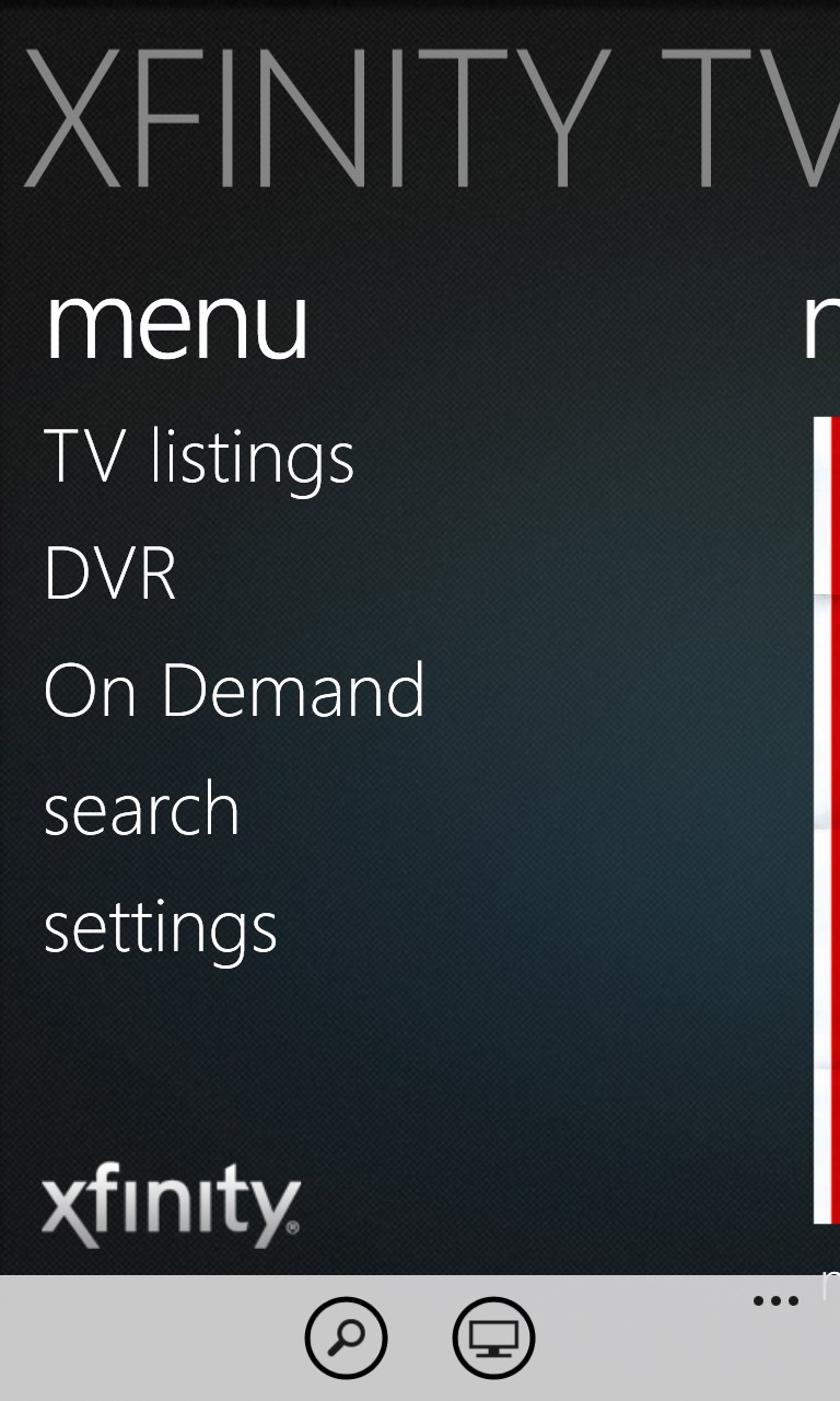 xfinity tv remote | free windows phone app market