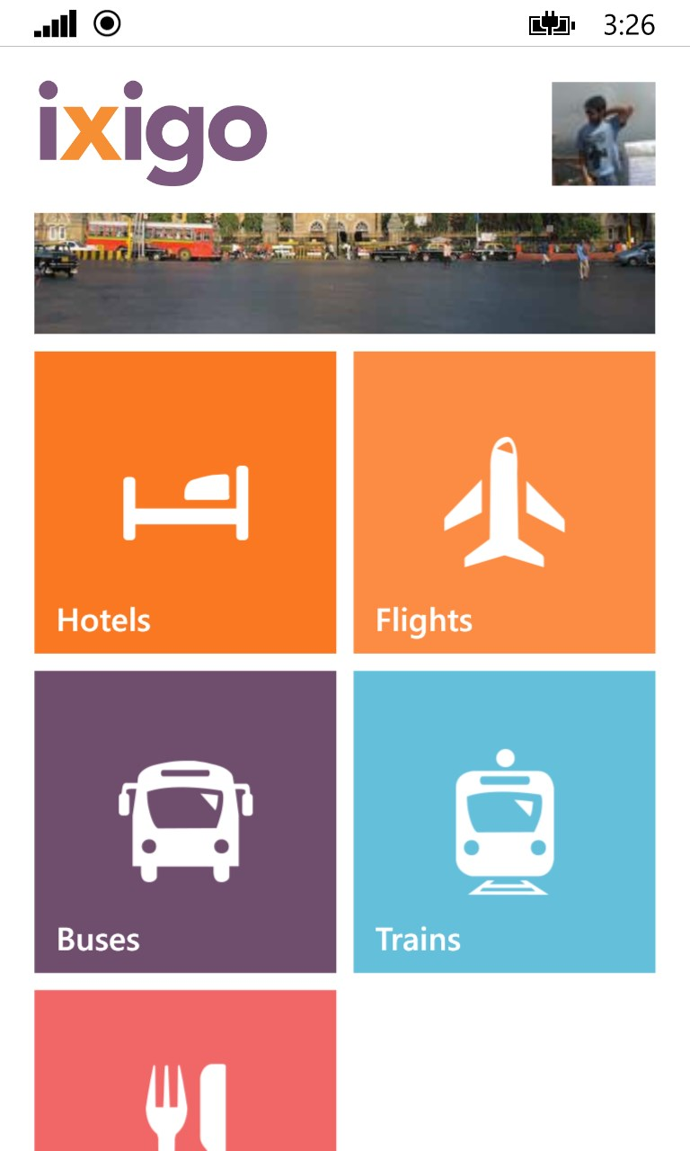 ixigo trains hotels flights buses | FREE Windows Phone app