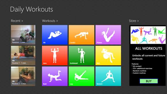 Daily Workouts screenshot 4