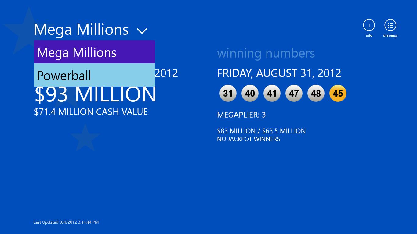 Mega Millions & Powerball for Windows 10  Mega Millions &...