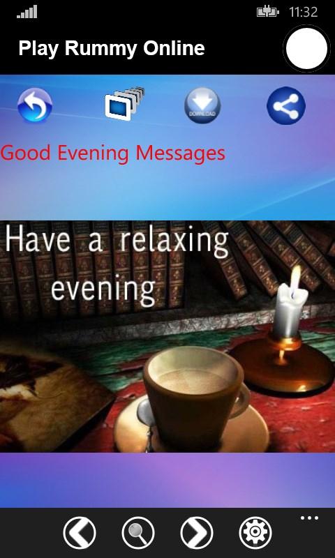 good evening messages free windows phone app market