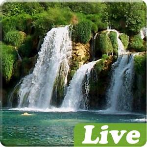 waterfall live wallpaper lockscreen free windows phone