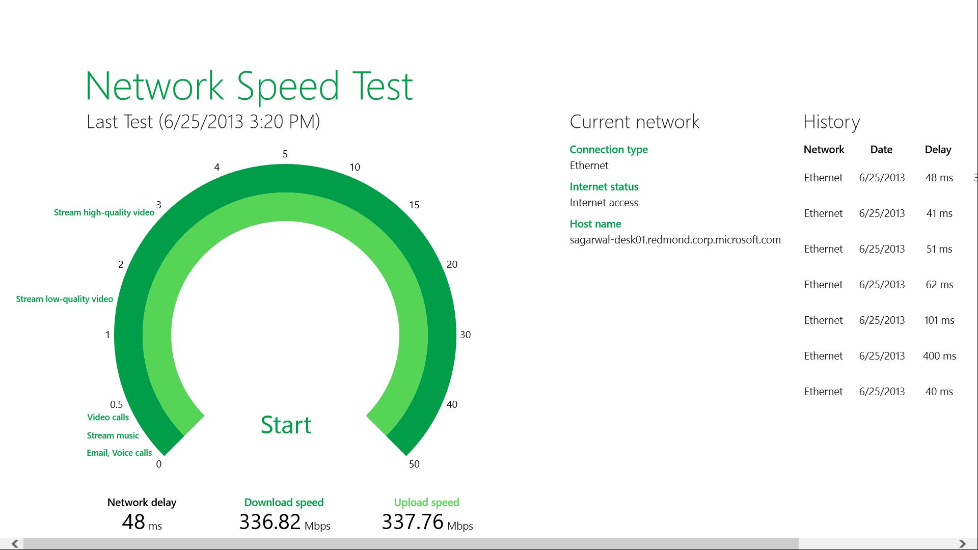 Network Speed Test