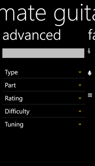 Ultimate Guitar Tabs app for Windows phone - download for Windows ...