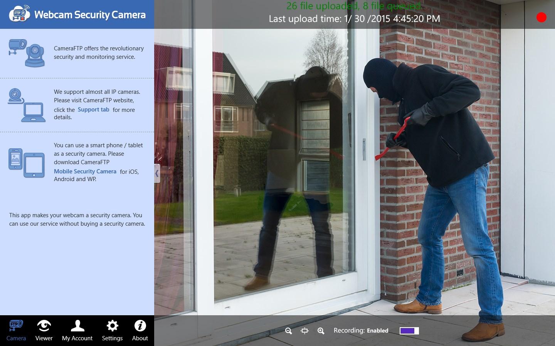 Webcam Security Camera