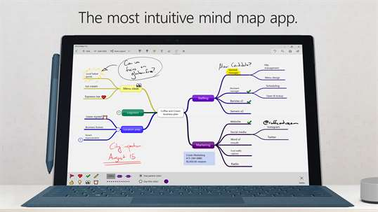 Mind Maps Pro screenshot 1