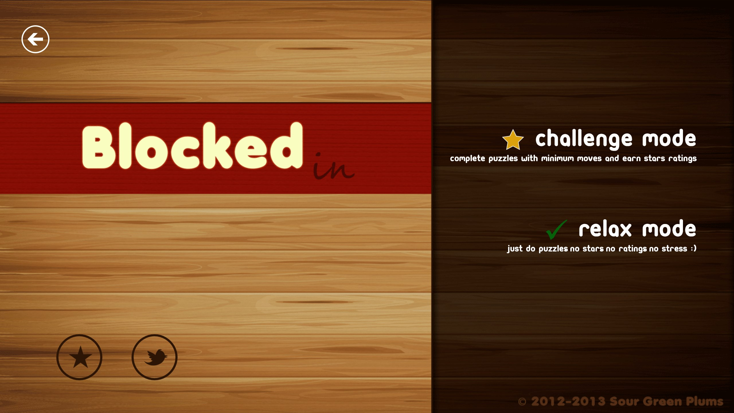 Blocked In