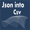 Json Into Csv file