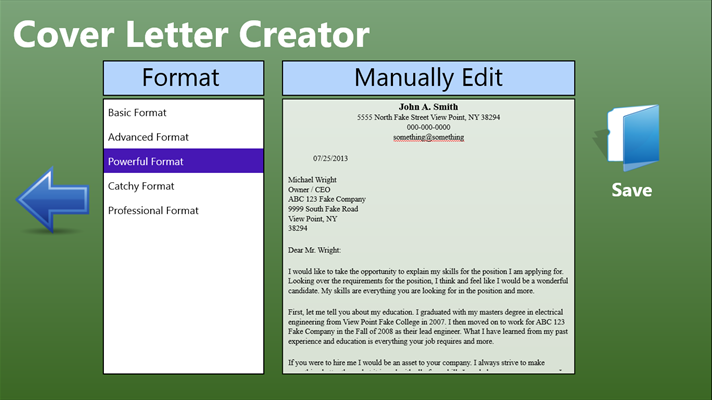 fast easy cover letter creator for windows 10 free