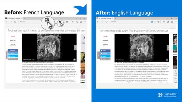 Translator For Microsoft Edge screenshot 1