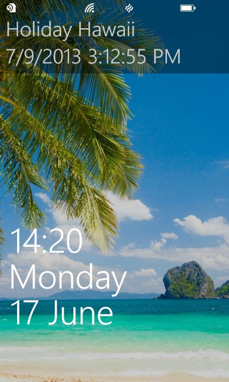 Holiday And Vacation Countdown Widget Free Windows Phone App Market