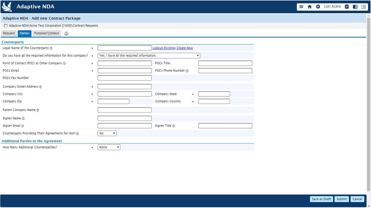 Adaptive Non Disclosure Agreement Nda Manager