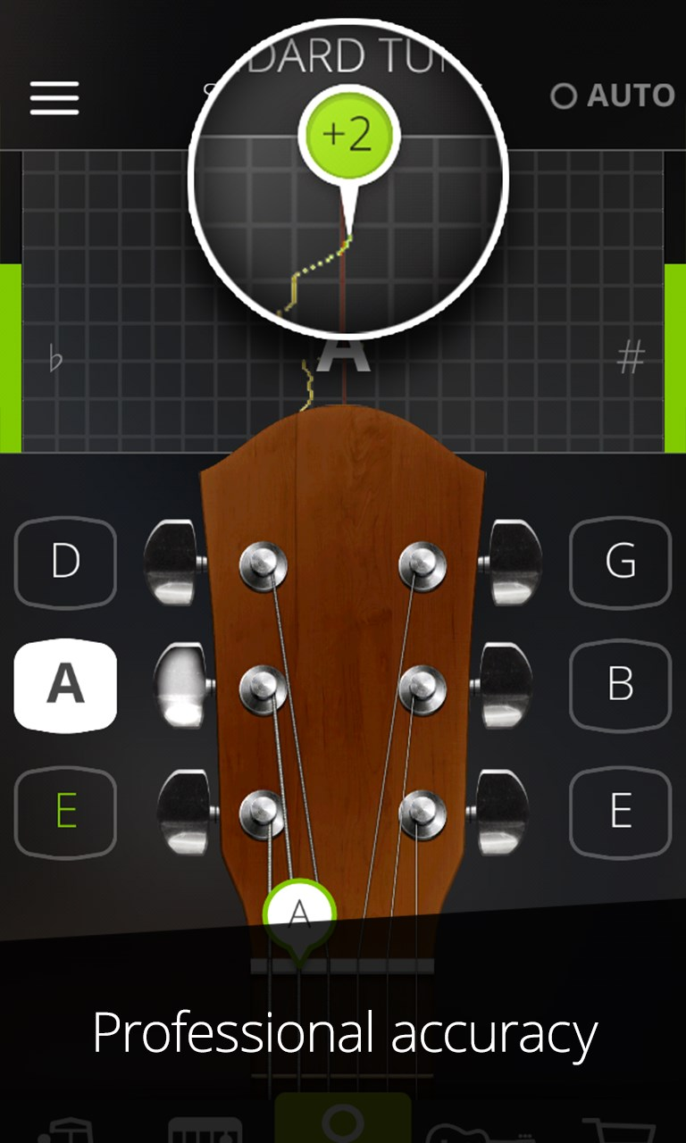 guitar tuna the ultimate free tuner metronome free windows phone app market. Black Bedroom Furniture Sets. Home Design Ideas