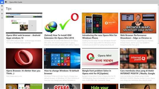 Opera mini free download windows 10