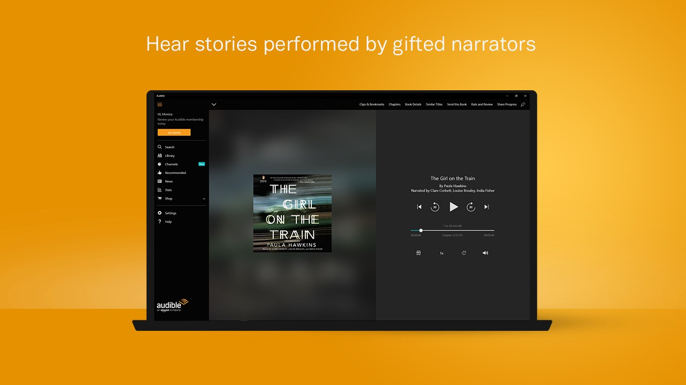how to add audiobooks to audible app