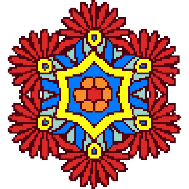 apps.4083.13671635383113779.d327c96e 1246 4342 b2c0 28609ead4586 - Mandala Flowers Color by Number-Pixel Art Coloring