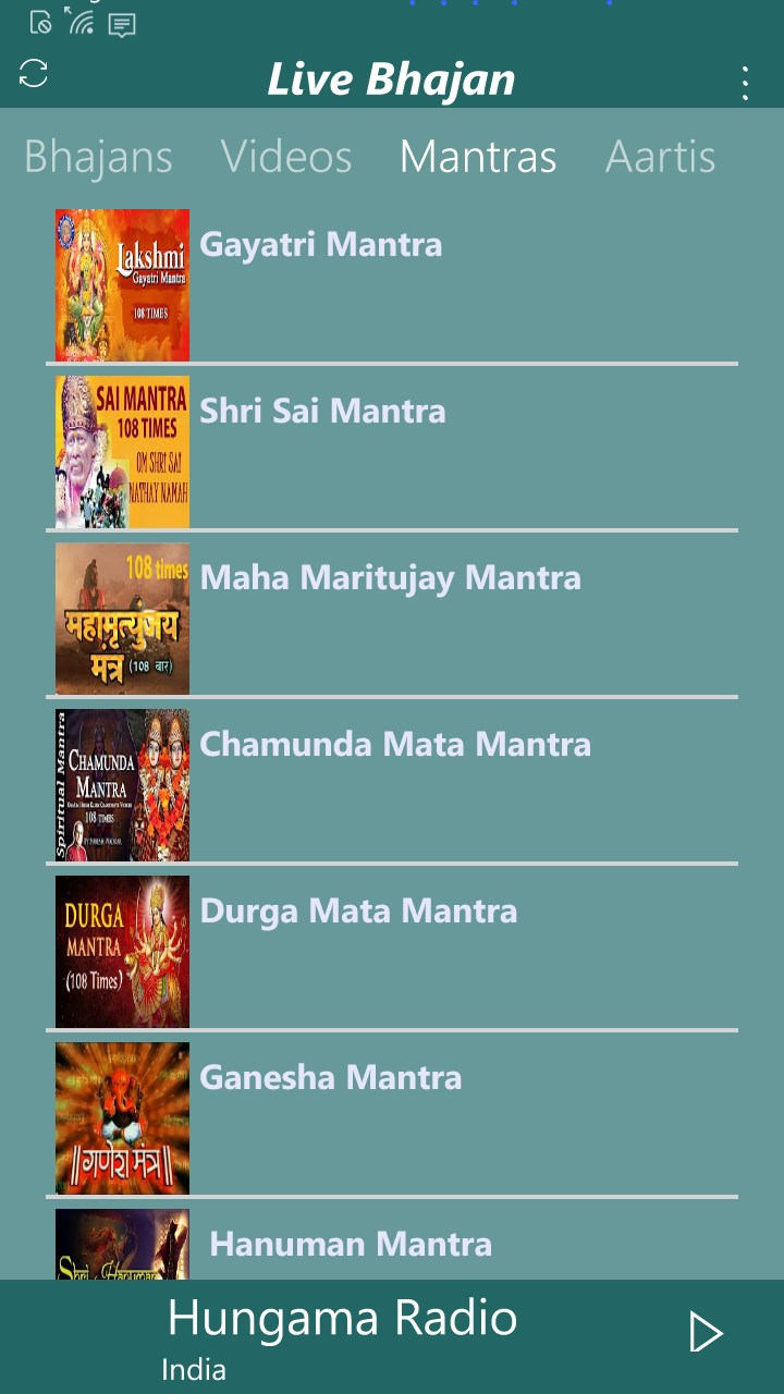 Live Bhajan : Radio | FREE Windows Phone app market
