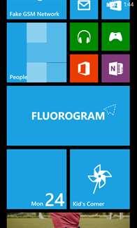 Fluorogram Screenshot