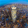 VR Los Angeles Helicopter Flight by Night