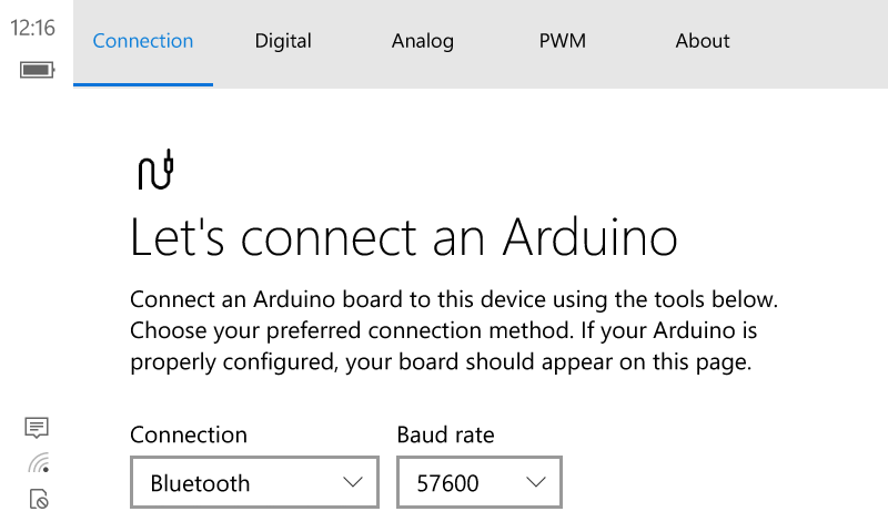Windows Remote Arduino Experience