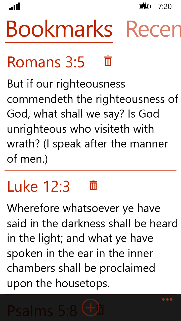 Holy Bible ASV