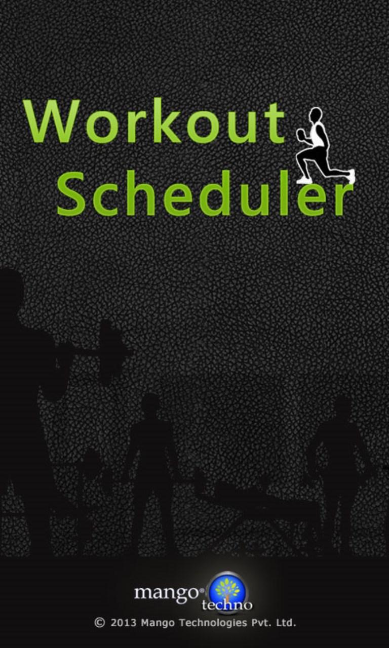 Workout Scheduler