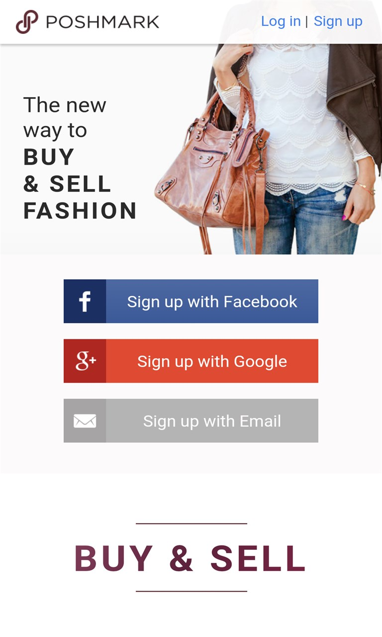 Poshmark online shopping free windows phone app market for Apps similar to poshmark