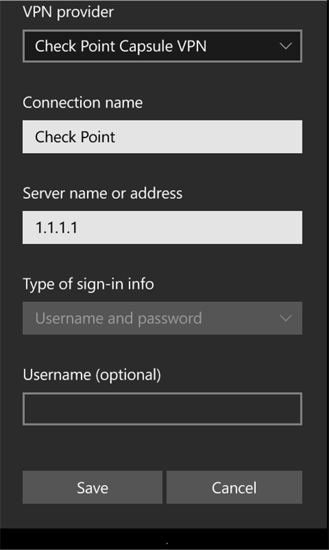 Checkpoint vpn for win 10