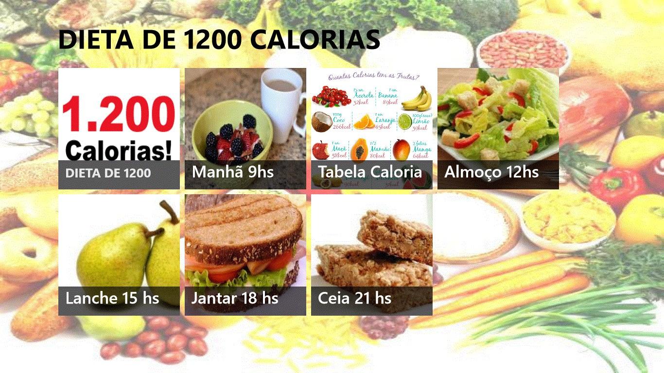 mit 1200 kcal abnehmen