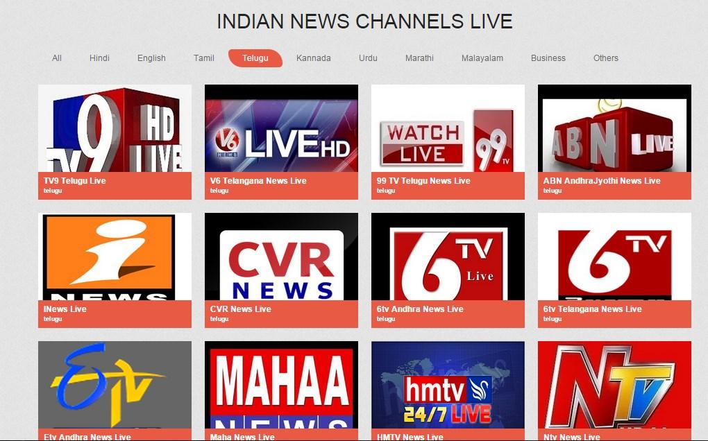 Indian Live News Channels | FREE Windows Phone app market