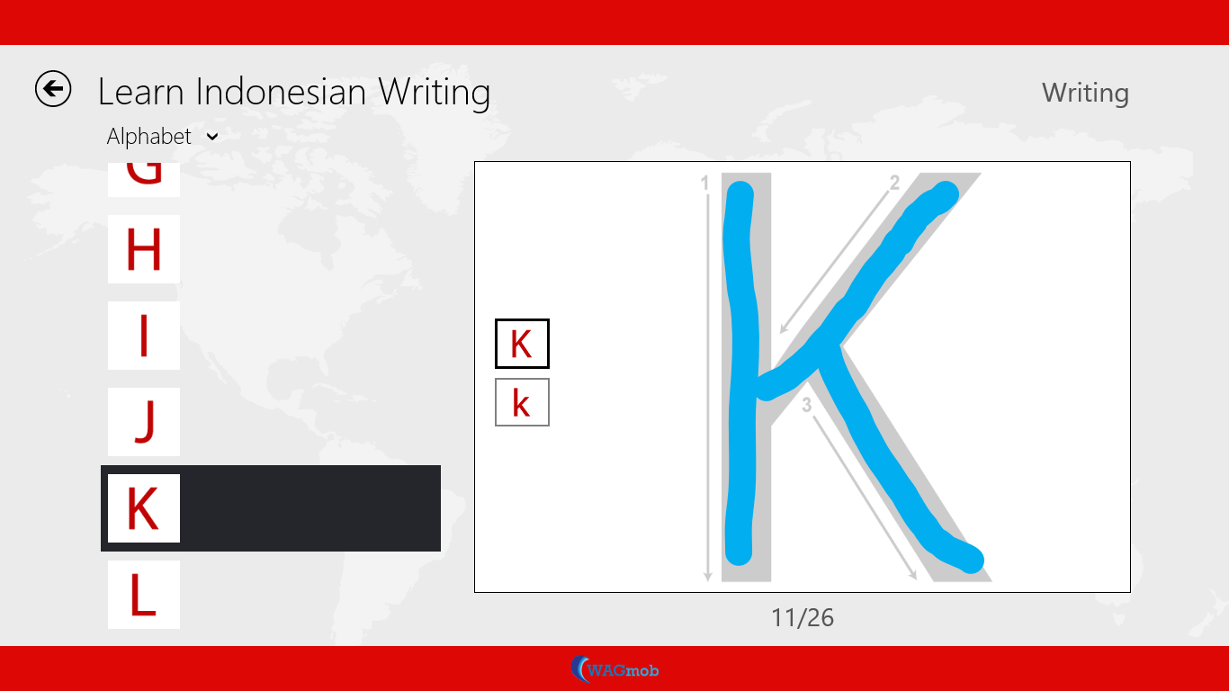 indonesian writing