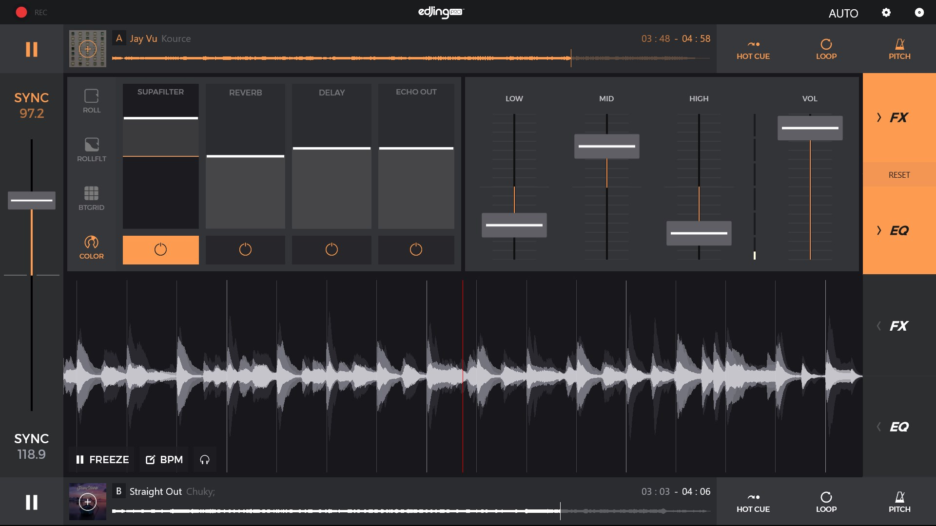edjing pro le music dj mixer